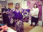 Preta Gil compra quimono em Tóquio e posta foto no Twitter