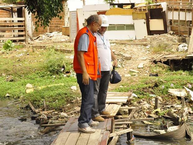 As equipes da Defesa Civil de João Pessoa seguem com as visitas às áreas de risco até abril (Foto: Dayse Euzebio/Secom-JP)