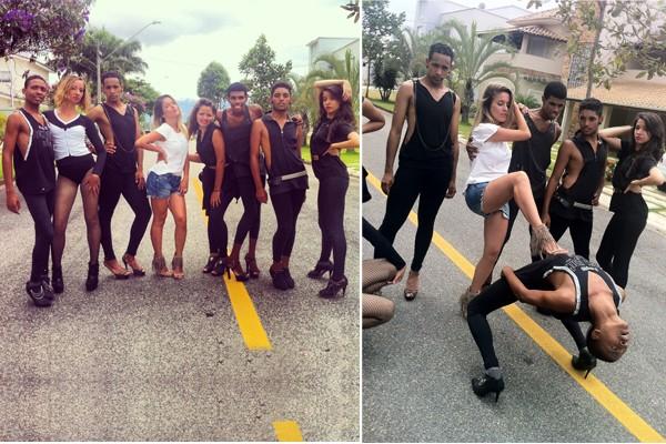 """""""Stiletto Dance"""" é um estilo de dança sobre salto alto inspirada nas divas pop  (Foto: Fernanda Salluz)"""