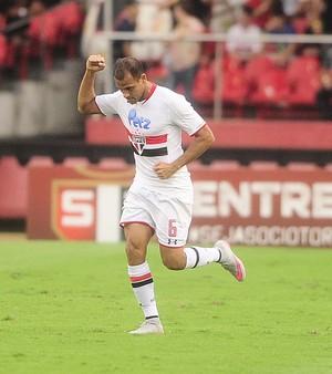 Carlinhos, gol, São Paulo (Foto: Marcos Ribolli)