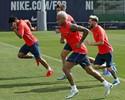 Sem descanso: com todos os titulares, Barça faz treino um dia após goleada