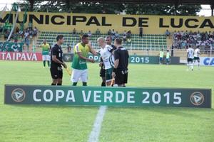 Luverdense e Cuiabá Copa Verde (Foto: Edivaldo Rios/Luverdense Esporte Clube)