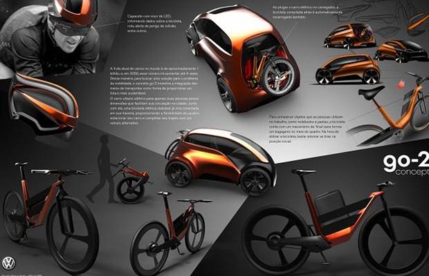Go-2 Concept, conceito apresentado no VW Talento Design (Foto: Divulgação)