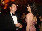 Katy Perry comemora Dia de Ação de Graças com Orlando Bloom
