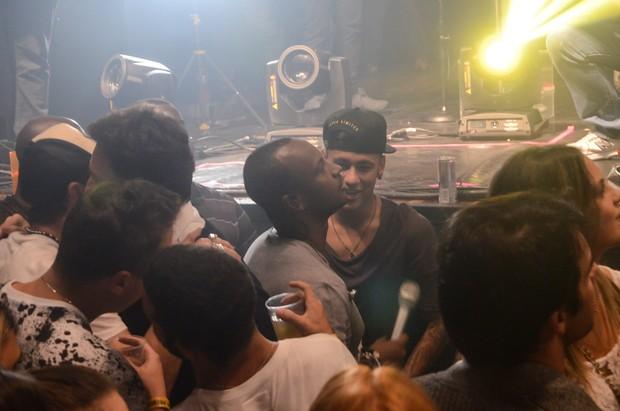 Neymar e Thiaguinho (Foto: Araújo, Caio Duran e Eduardo Martins / Azzi Agency)
