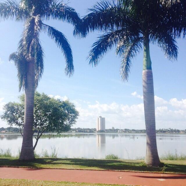 Neste sábado a cidade de Três Lagoas pode chegar a atingir 40°C (Foto: Fabiano Fresneda/TV Morena)