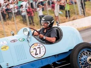 Nelson Piquet estará presente na 5ª edição do Pé na Tábua, em Franca, neste fim de semana (Foto: Tiago Brandão)