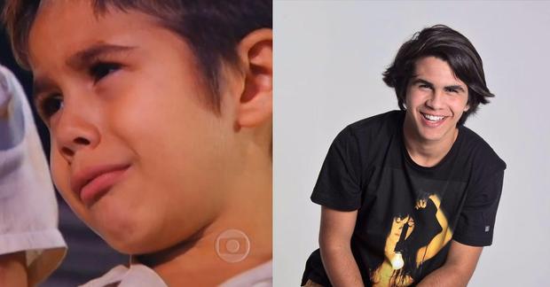 Cassio Ramos em Senhora do Destino (Foto: Globo e reprodução/Facebook)