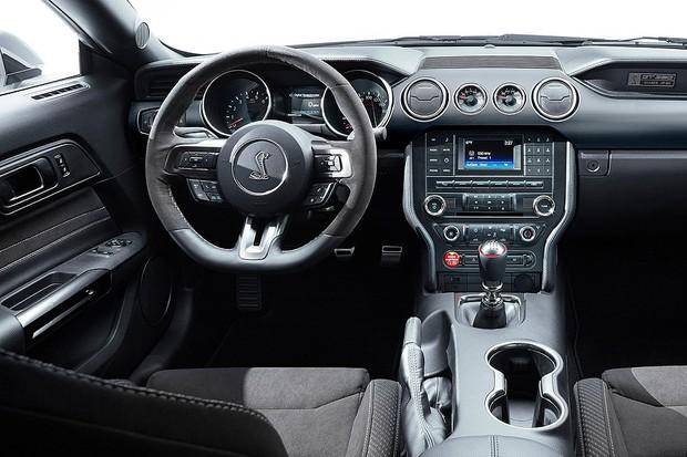 Ford Mustang Shelby GT350 (Foto: Divulgação)