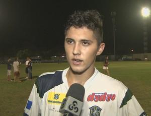 Charles, atacante do Rondoniense (Foto: Reprodução/ TV Rondônia)