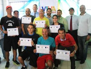 Treinamento de capacitação de professores de Educação Física com Jay Quinn (Foto: Rafael Barreto/PMDC)