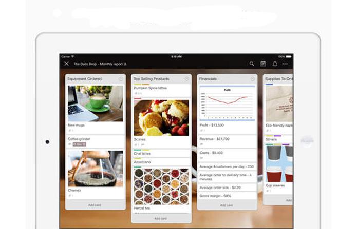 Trello também está presente nos dispositivos da Apple (Foto: Divulgação/Trello)
