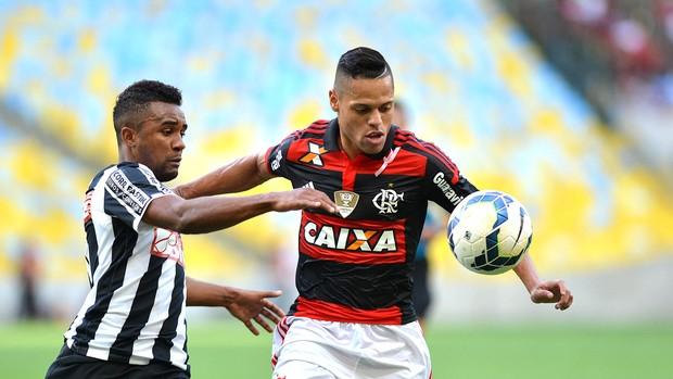 João Paulo, Flamengo X Santos (Foto: André Durão)