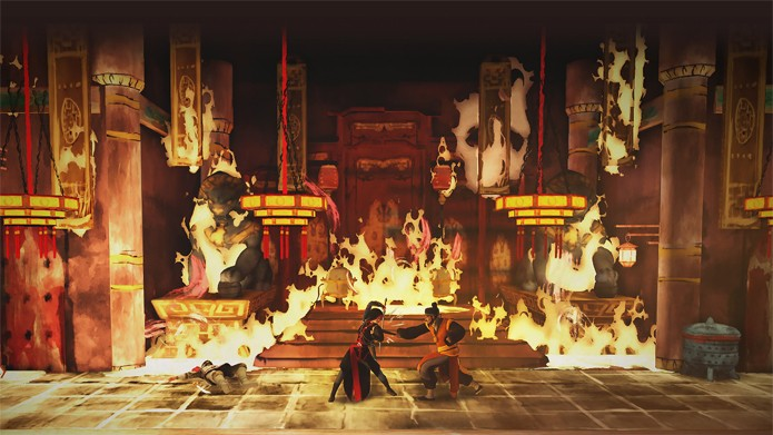 Shao Jun é a estrela de Assassins Creed Chronicles: China (Foto: Divulgação/Ubisoft)