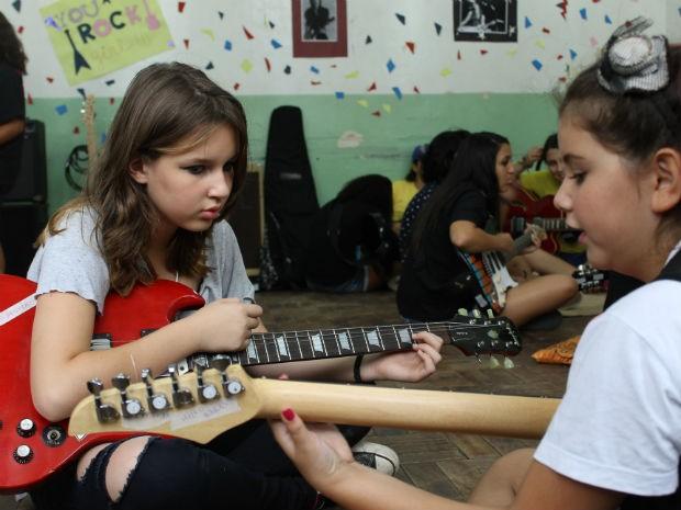 Girls Rock Camp Brasil, em Sorocaba (Foto: Jéssica Ribeiro/Girls Rock Camp)