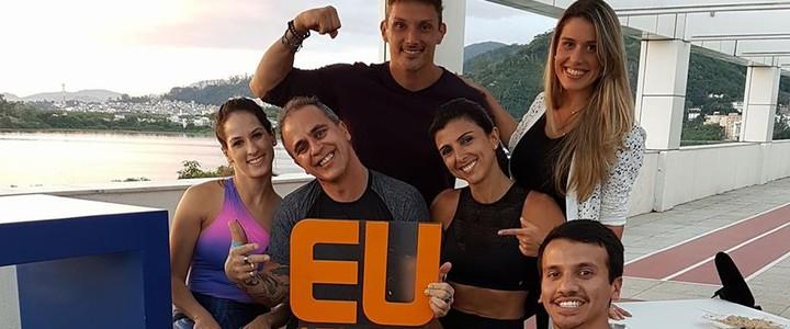 Nutri, treinador e fisioterapeuta no Programa Eu Atleta: veja! (Renata Domingues)