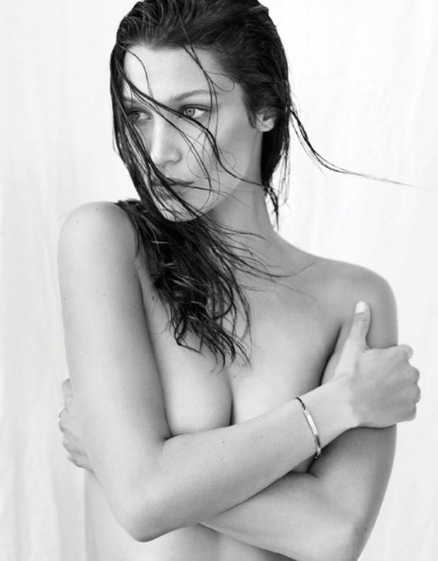 Bella Hadid (Foto: Reprodução/Flare)