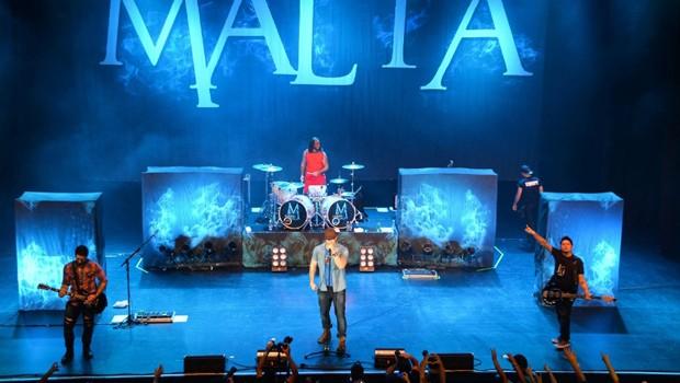 Banda Malta promete agitar o público em Curitiba  (Foto: Divulgação)