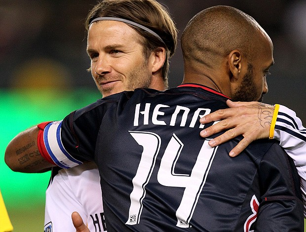 donovan beckham los angales galaxy henry new york red bull  (Foto: Agência Getty Images)