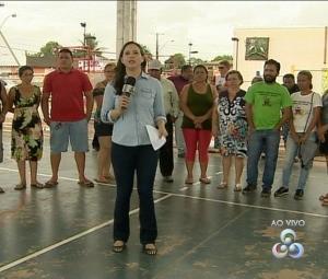 Fala Comunidade é o novo desafio de Aline Ferreira (Foto: Rede Amazônica no AP)