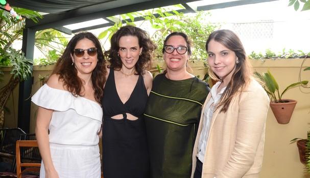 Juliana Pinheiro Motta, Ana Isabel Carvalho Pinto, Silvia Rogar e Vivian Sottocorno (Foto: Rodrigo Zorzi)