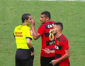 Ricardo Marques Ribeiro Palmeiras x Sport (Foto: Reprodução)