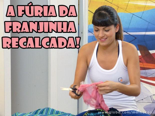 INVEJOSA! Como essa recalcada tem coragem de aprontar uma dessa? (Foto: Malhação / Tv Globo)