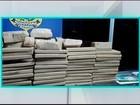 Dezenas de tabletes de maconha são apreendidos na BR-381 em Oliveira