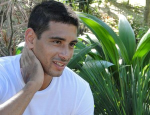 Diego Souza, meia do Cruzeiro (Foto: Marco Antônio Astoni)