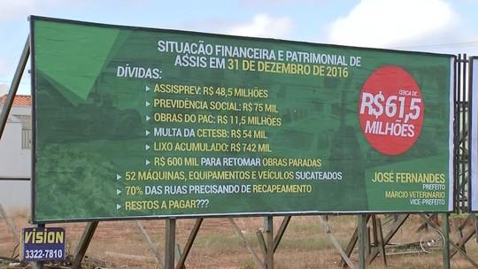Prefeito de Assis decreta estado de calamidade financeira e administrativa
