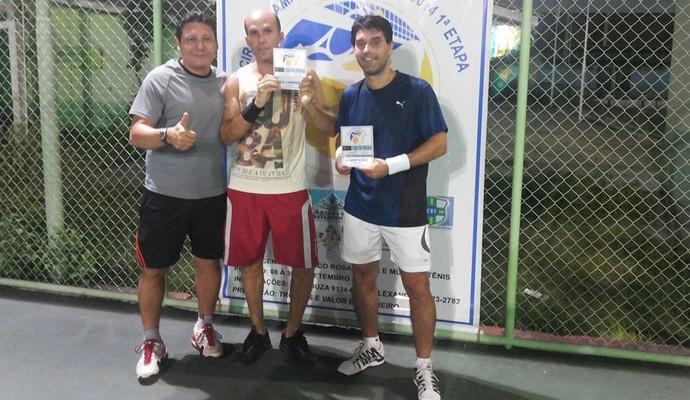 Definidos os primeiros vencedores do Circuito Amapá em Tênis de Quadra (Foto: Divulgação/Rui Souza)