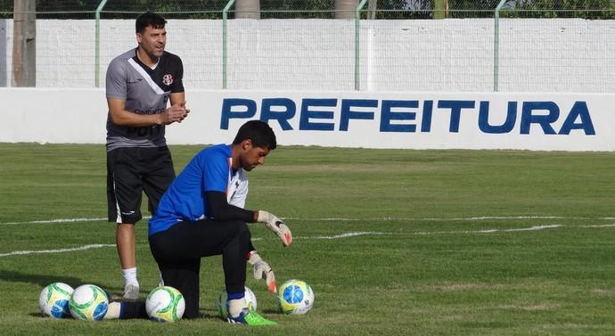 Bosco e Fred Santa Cruz (Foto: Aldo Carneiro/Pernambuco Press)