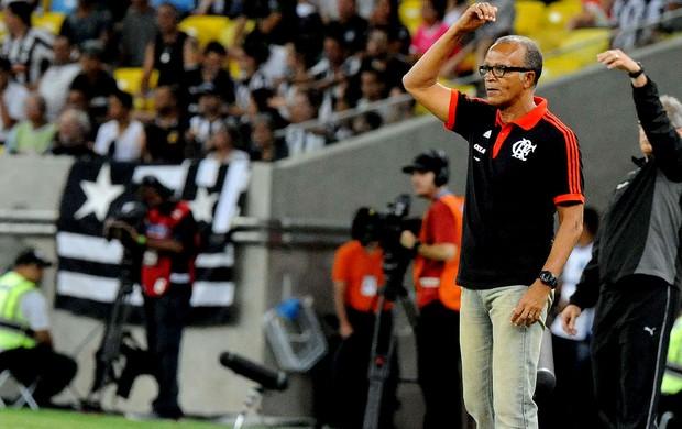 Jayme de Almeida jogo Flamengo e Botafogo (Foto: Alexandre Vidal / Fla Imagem)