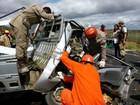 Batida entre carros mata dois irmãos e deixa um ferido na BA-046, diz PRE