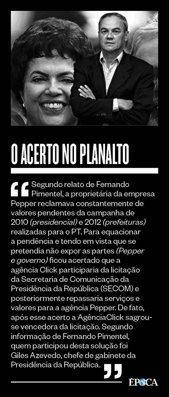 DELAÇÃO PREMIADA Operador de Bené relata acerto de contrato do Planalto para quitar dívida (Foto: Reprodução)