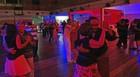 Baile da 3ª idade ajuda a formar casais (Luna Markman / G1)