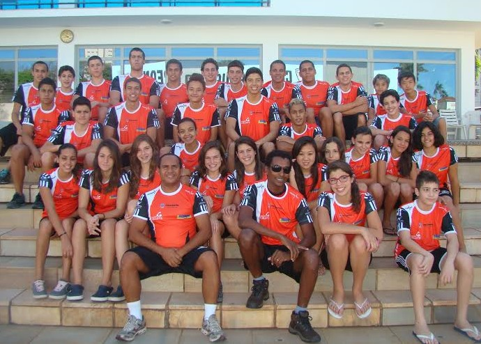 Equipe prudentina de natação disputa Torneio Regional em Ourinhos (Foto: Marcos Chicalé / Semepp / Divulgação)