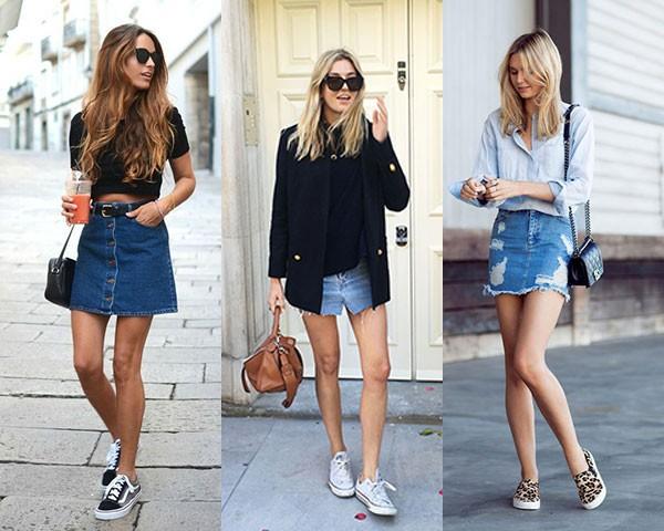 Minissaia jeans: um clássico do verão (Foto: Instagram)