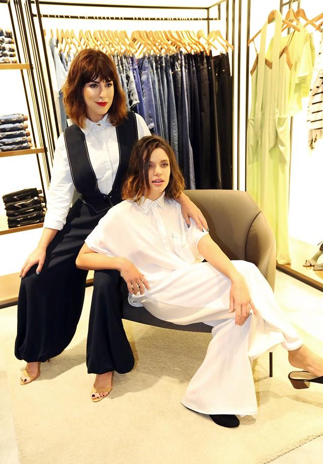 Bruna Linzmeyer e Fernanda Paes Leme (Foto: Darlini e Angelo Santos)