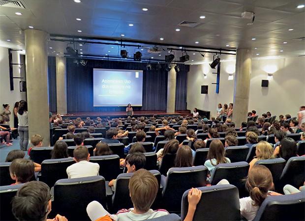 Professores participam do projeto Conviver Melhor (Foto:  )