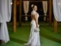 Mulher Melão posa para editorial de noivas e diz: 'Agora só falta o marido'