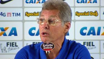Assista à entrevista coletiva de Oswaldo de Oliveira após Corinthians 0 x 0 Atlético-PR