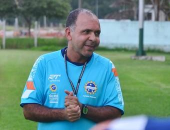 Jeferson Félix técnico São José Futebol Feminino (Foto: Tião Martins/ PMSJC)