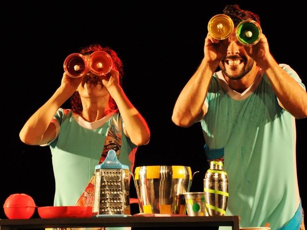 Espetáculo infantil Ritmo É Tudo, da trupe carioca Irmãos Brothers Band  (Foto: Fernanda Tomaz/Divulgação)
