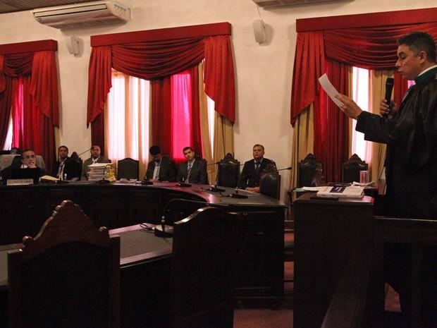 Desembargadores votam recursos de acusados do Caso Décio Sá (Foto: Flora Dolores / O Estado)