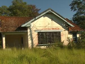 Casa centenária pode virar museu em distrito de Araraquara, SP (Foto: Marlon Tavoni/EPTV)