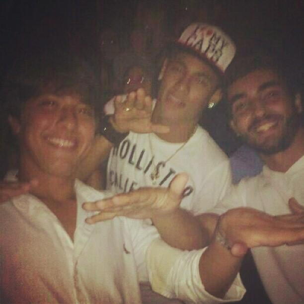 Nilo Faria e Neymar (Foto: Instagram/Reprodução)