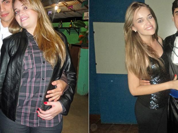 Fernanda aprendeu a controlar a dieta e deixou só os finais de semana para comer as tentações (Foto: Arquivo pessoal)