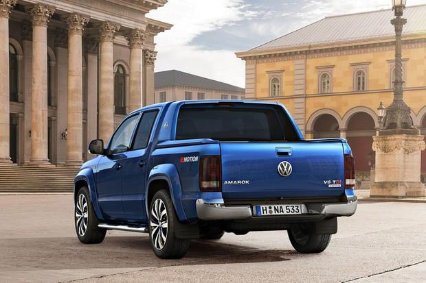 VW revela reestilização da Amarok com novo motor turbodiesel V6 (Foto: Divulgação)