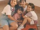 Coleguinha Karen já foi morena quando era criança; Veja as fotos!